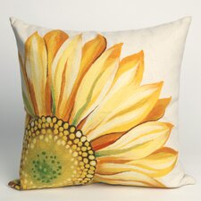 Sunflower Indoor/Outdoor Throw Pillow