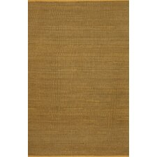 Carmel Yellow Texture Indoor/Outdoor Rug