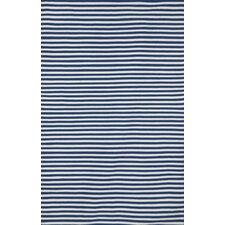 Sorrento Mini Stripe Navy/White Indoor/Outdoor Area Rug