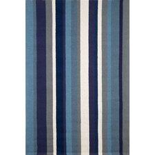 Newport Marine Vertical Stripe Indoor/Outdoor Area Rug