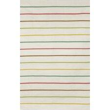 Sorrento Candy Stripe Neutral Indoor/Outdoor Area Rug