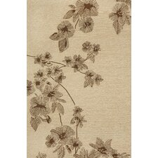 Carlton Brown Branches Indoor/Outdoor Rug