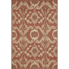 Monterey Sunset Ikat Indoor/Outdoor Rug