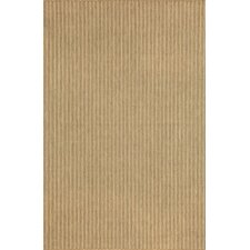 Monterey Neutral Texture Stripe Indoor/Outdoor Rug