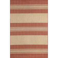 Madison Sunset Stripe Indoor/Outdoor Area Rug