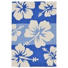 Capri Hand-Tufted Blue Indoor/Outdoor Area Rug