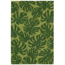 Capri Hand-Tufted Green Indoor/Outdoor Area Rug