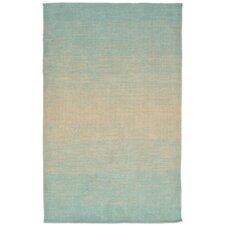 Java Hand-Woven Blue Indoor/Outdoor Area Rug