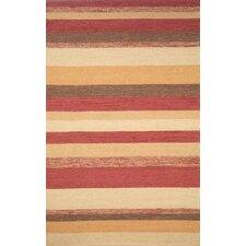 Ravella Red Stripe Outdoor Rug