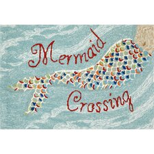 Frontporch Mermaid Crossing Doormat