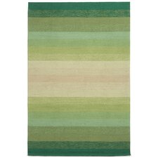 Ravella Ombre Green Area Rug