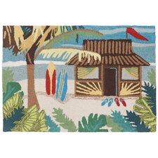 Frontporch Tiki Hut Doormat