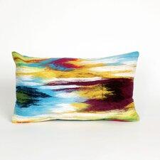 Visions III Ikat Splash Lumbar Pillow