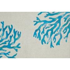 Visions II Coral Doormat