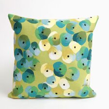 Visions II Pansy Throw Pillow
