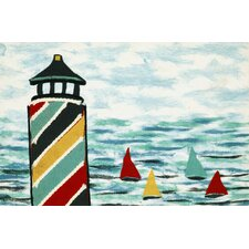 Visions IV Lighthouse Doormat