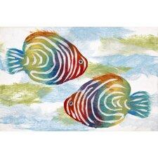 Visions IV Rainbow Fish Doormat