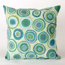 Visions II Puddle Dot Throw Pillow