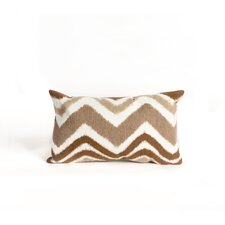 Visions III Zigzag Ikat Lumbar Pillow