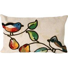 Song Birds Indoor/Outdoor Lumbar Pillow