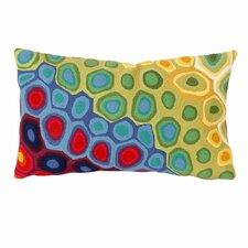 Pop Swirl Indoor/Outdoor Lumbar Pillow