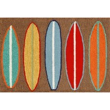 Frontporch Surfboards Area Rug