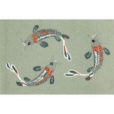 Frontporch Koi Fish Area Rug