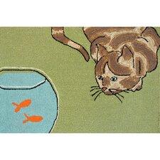 Frontporch Curious Cat Area Rug