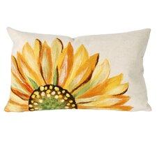 Sunflower Indoor/Outdoor Lumbar Pillow