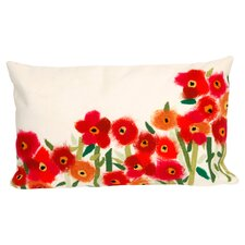 Poppies Indoor/Outdoor Lumbar Pillow