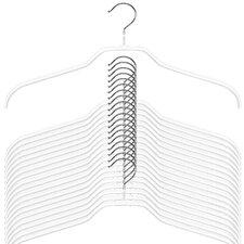 Silhouette Extra Wide Non-Slip Hanger (Set of 10)