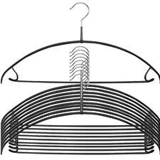Euro Ultra Thin Skirt Non-Slip Hanger (Set of 10)