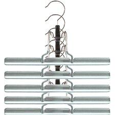 Metal Clamp Non-Slip Hanger (Set of 5)