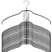 Silhouette Ultra Thin Shirt Hanger (Set of 20)