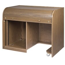 Elite Roll Top Desk with Seating Cutout