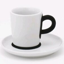 Five Senses Touch! 3 oz. Espresso Cup with Saucer