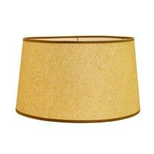 "19"" Hard Back Linen Drum Lamp Shade"