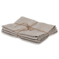 Laundered Linen Solid Napkin (Set of 4)
