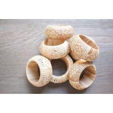 Bamboo Napkin Ring (Set of 7)