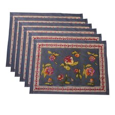 Pansy Placemat (Set of 6)
