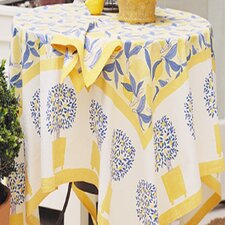 Lemon Tree Dining Linen Collection