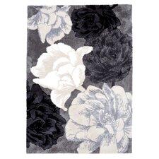 Teppichläufer Villiruusu in Grau