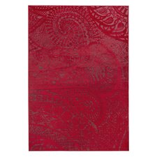 Teppich Lace in Rot