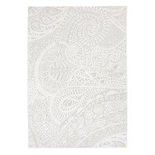 Teppich Lace  in Weiß