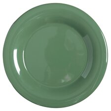 Diamond Mardis Gras Plate in Forest Green (Set of 3)
