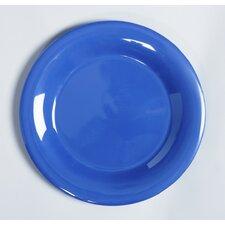 Diamond Mardis Gras Plate in Peacock Blue (Set of 3)