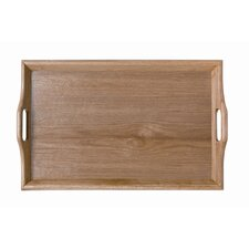 Hardwood Room Service Tray in Natural