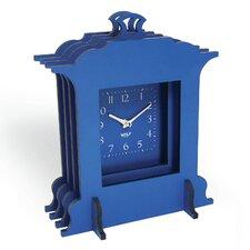 Wooden Jigsaw Grand Mantel Clock