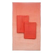 Dip Dye 4 Piece 250 Thread Count 100% Bamboo Rayon Viscose Sheet Set