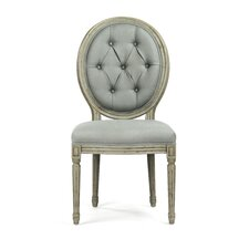 Tufted Medallion Side Chair